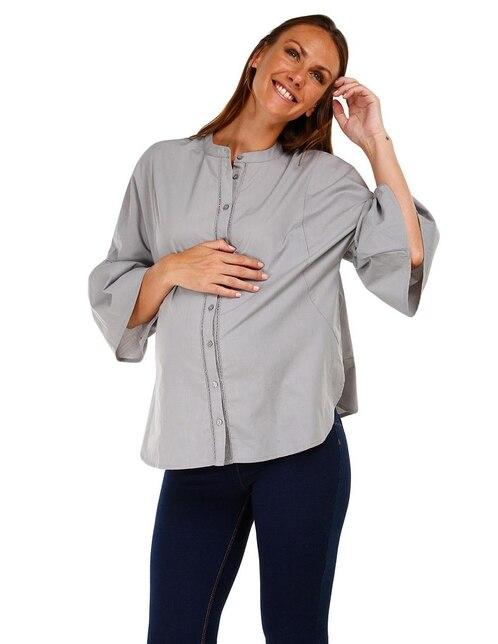 861c031f7 Vista Rápida. Blusa de maternidad lisa One to Nine algodón