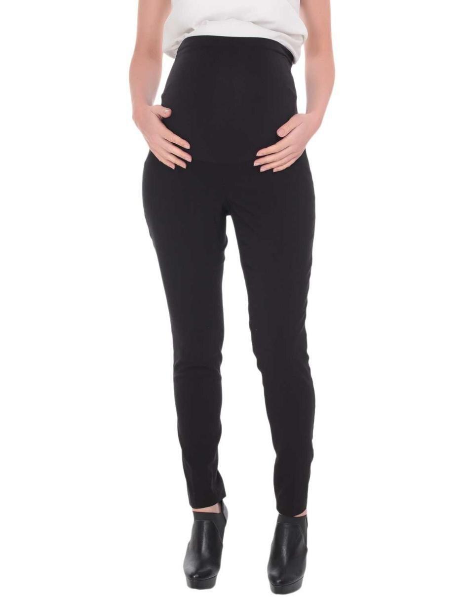 7c24ccd8a Pantalón de maternidad liso Motherhood algodón negro
