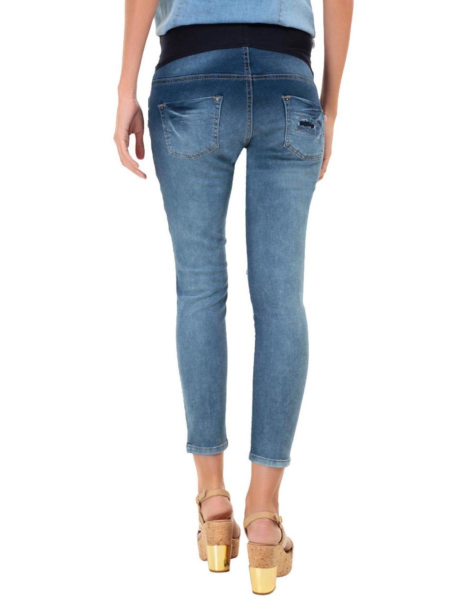 95d3f93ca To One Skinny Corte Azul Nine Jeans De Maternidad TtnSwqSAxf for ...