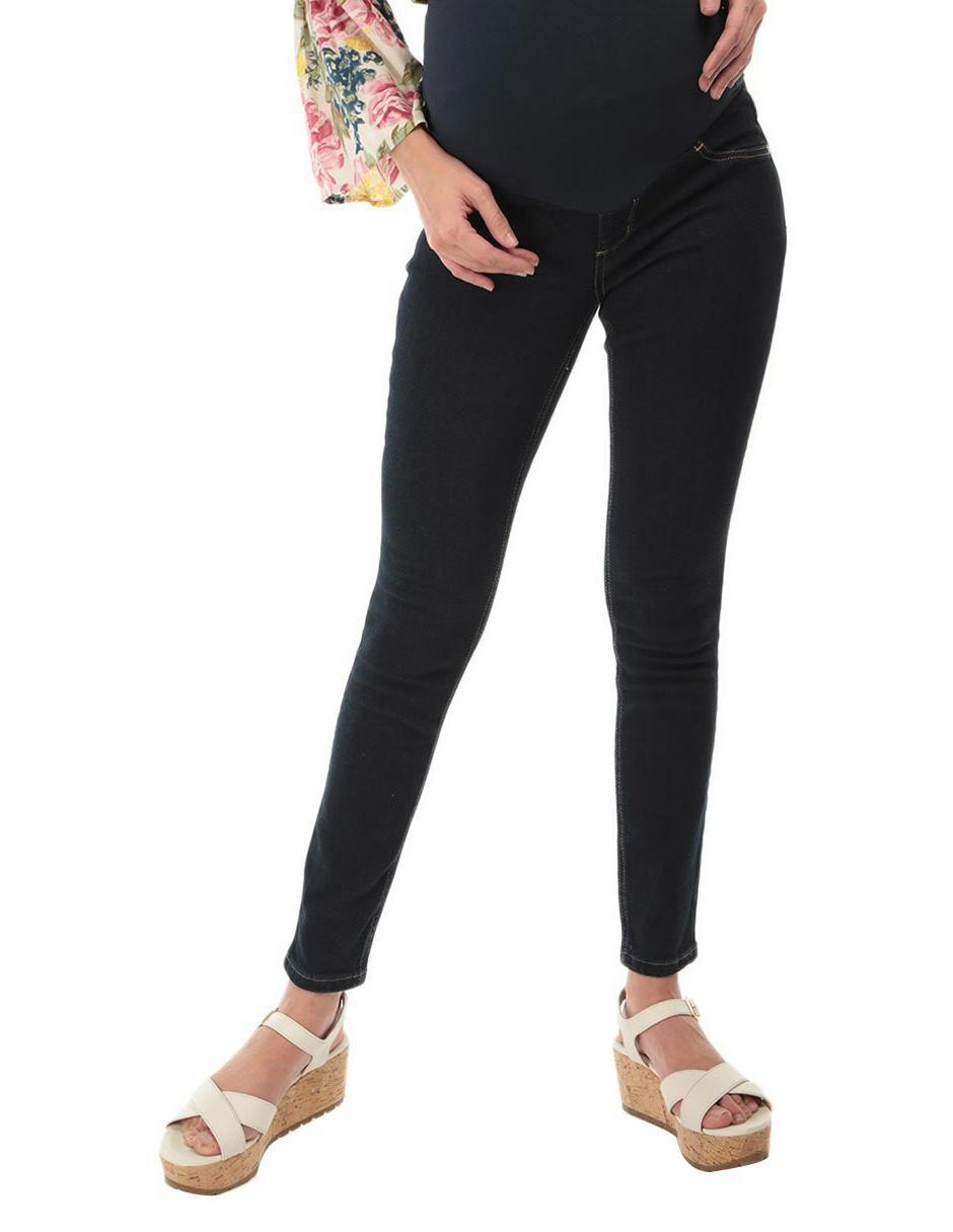 e1d898901 Jeans de maternidad One to Nine corte skinny azul
