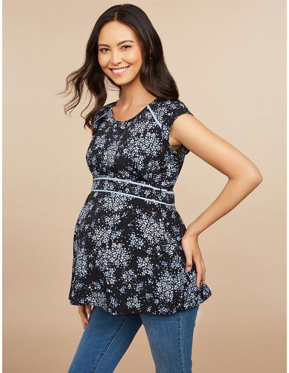 1fd441399 Blusa de maternidad Motherhood con diseño floral